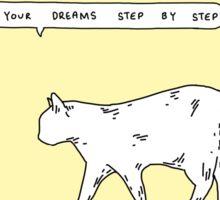 Dreaming cat Sticker