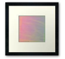 'Unruffled', Abstract Thinking Series 23 Framed Print
