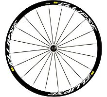 Mavic Ellipse Wheels Photographic Print