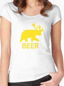 Life Is Strange – Beer Hoodie, Trevor, Max Caufield Women's Fitted Scoop T-Shirt