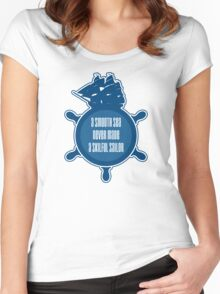 Smooth sea Women's Fitted Scoop T-Shirt