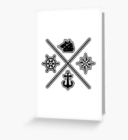 Nautical stuff Greeting Card