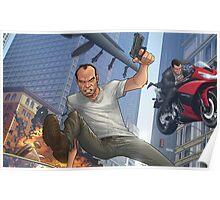 GTA 5 Artwork  Poster