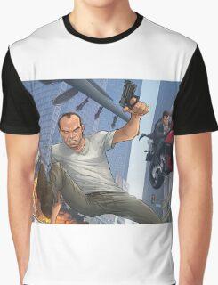GTA 5 Artwork  Graphic T-Shirt