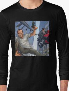 GTA 5 Artwork  Long Sleeve T-Shirt