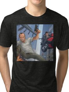 GTA 5 Artwork  Tri-blend T-Shirt