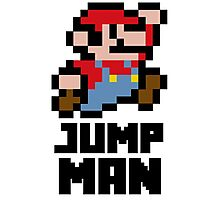 Mario Jump Man Photographic Print