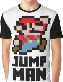 Mario Jump Man Graphic T-Shirt