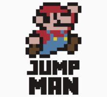 Mario Jump Man Baby Tee