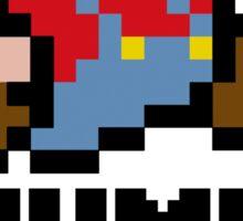 Mario Jump Man Sticker