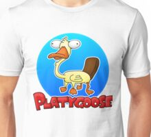 Platygoose (with text) Unisex T-Shirt