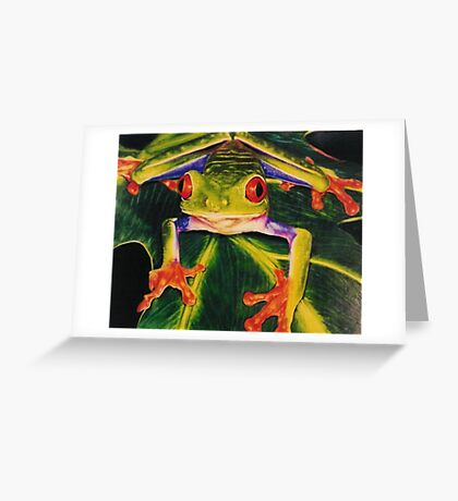 Rainbow Splendor Greeting Card