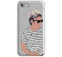 Niall Horan Striped Shirt Digital iPhone Case/Skin