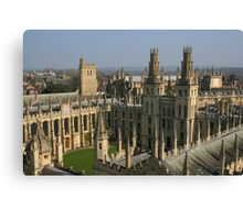 Oxford's Twin Towers Canvas Print