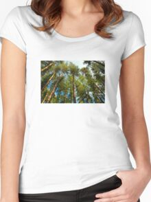 Tall Trees Women's Fitted Scoop T-Shirt