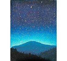 Blue Horizons Photographic Print