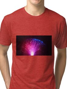 Red and Blue Tri-blend T-Shirt