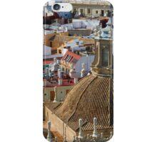 Seville rooftops iPhone Case/Skin