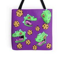Cookie Dinosaur Tote Bag