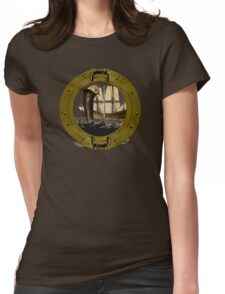 Sea Serpents And Seafarers  Womens Fitted T-Shirt