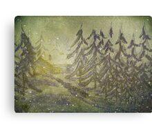 North Wind Calls Canvas Print