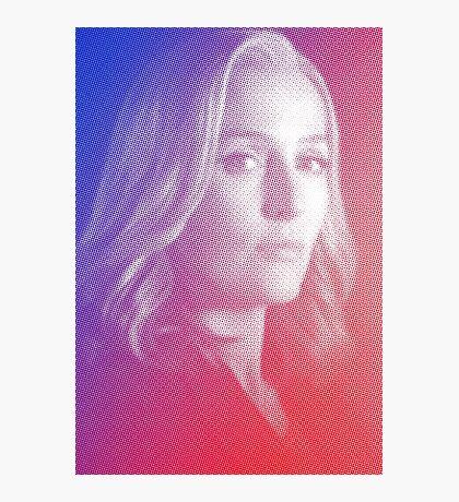 X-files Dana Scully sticker Photographic Print