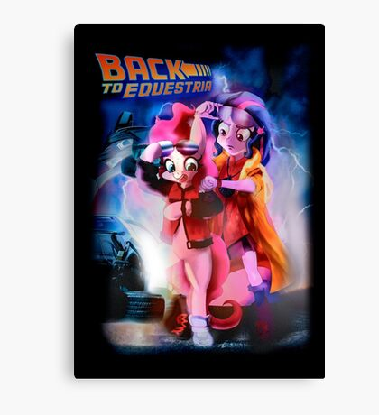 Back to Equestria Canvas Print