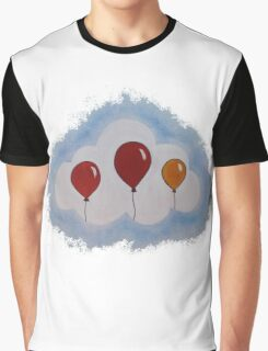 Balloons in Coud Graphic T-Shirt