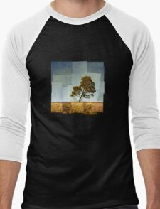 Abstract Landscape Men's Baseball ¾ T-Shirt