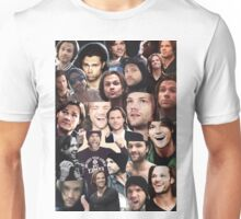 Jared Padalecki Collage Unisex T-Shirt