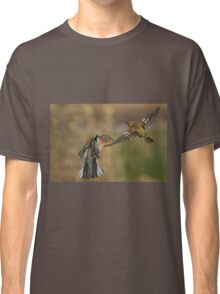 Chaffinches in flight Classic T-Shirt