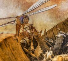 Dragonfly Dreams Sticker