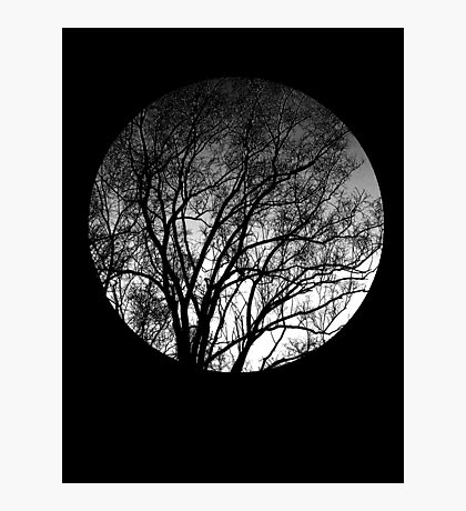 Nature into me! - Black Photographic Print