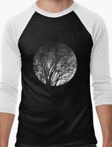 Nature into me! - Black Men's Baseball ¾ T-Shirt