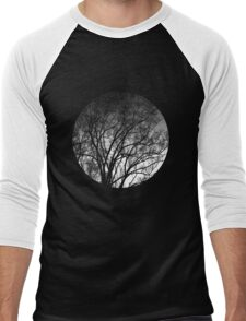 Nature into me! - Black Men's Baseball ¾ T-Shirt