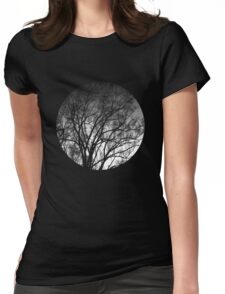 Nature into me! - Black Womens Fitted T-Shirt