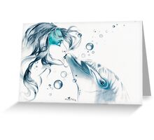 Dolphin Totem Greeting Card