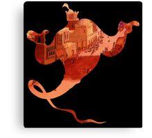 Aladdin Genie Canvas Print