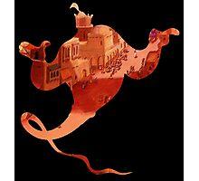 Aladdin Genie Photographic Print