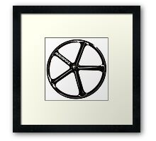 Aerospoke Wheel Framed Print