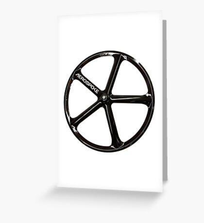 Aerospoke Wheel Greeting Card
