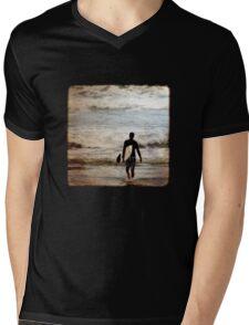 Heading Out Mens V-Neck T-Shirt