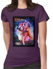 Back to Equestria Womens Fitted T-Shirt