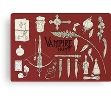 Vampire Hunt Canvas Print