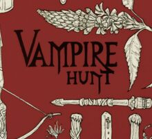 Vampire Hunt Sticker