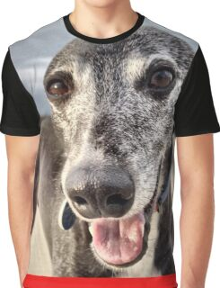 Whippet Love Graphic T-Shirt