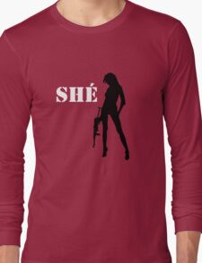 MacheteTrejo, SHÉ! Guevara  Long Sleeve T-Shirt