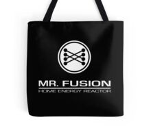 Back To The Future II Mr Fusion Logo & Text Tote Bag