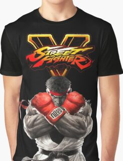 SFV Ryu Street Fighter V Graphic T-Shirt