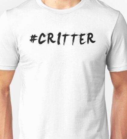 #Critter (Black)  Unisex T-Shirt